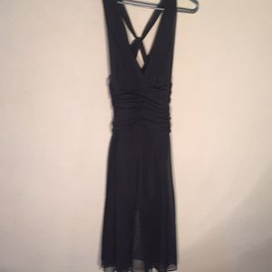 Calvin Klein black tulle dress size 8